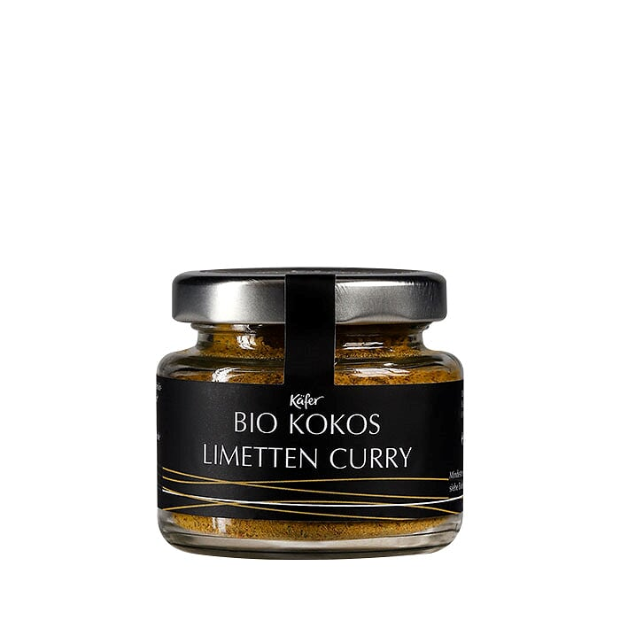 Bio Kokos Limetten Curry