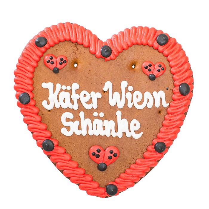 "Lebkuchenherz ""Käfer Wiesn Schänke"""