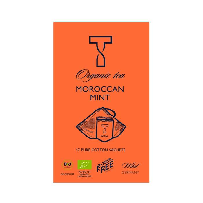 Bio Moroccan Mint, Kräutertee von Wital jetzt bei uns online bestellen!