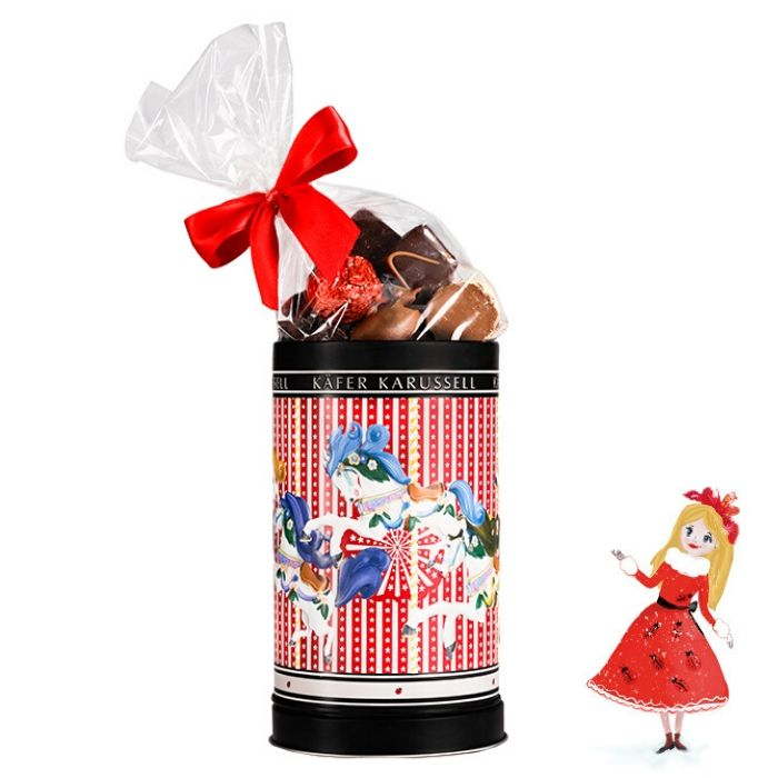 Käfer Karussell Spieluhr mit Pralinen gefüllt jetzt online kaufen!