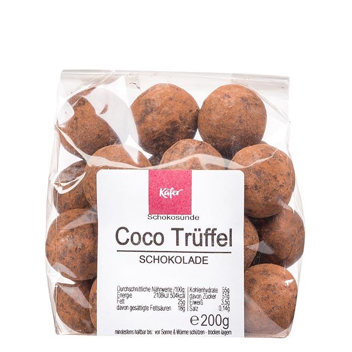 Coco Trüffeln Vollmilch