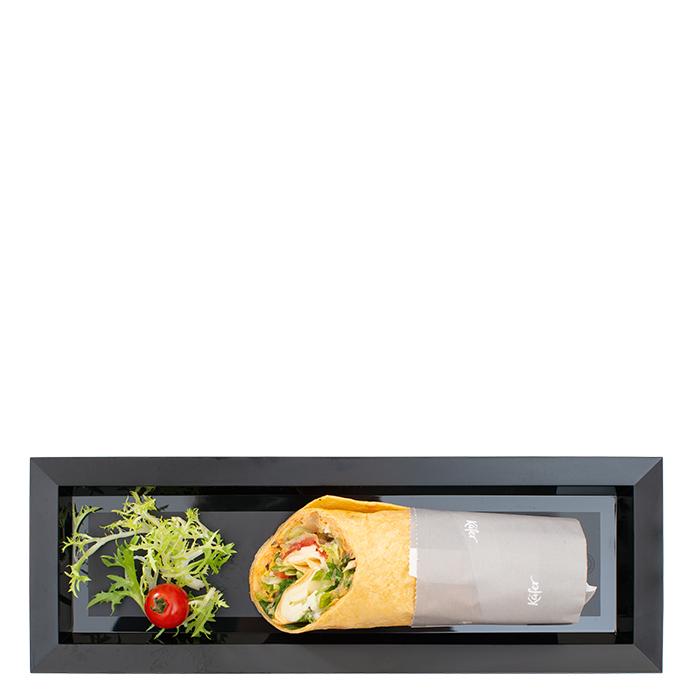 """Wrap """"Italia"""" mit Tomate-Mozzarella"""