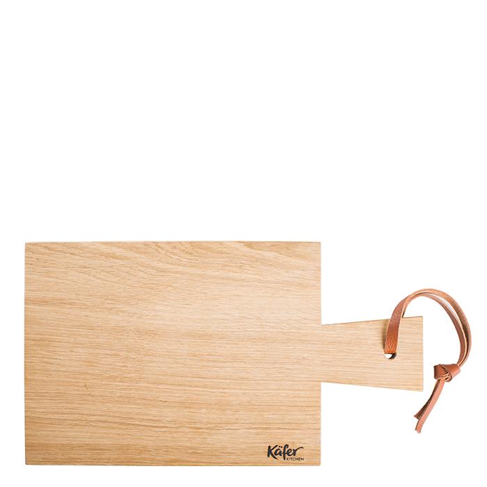 Eichenholzbrett, rechteckig