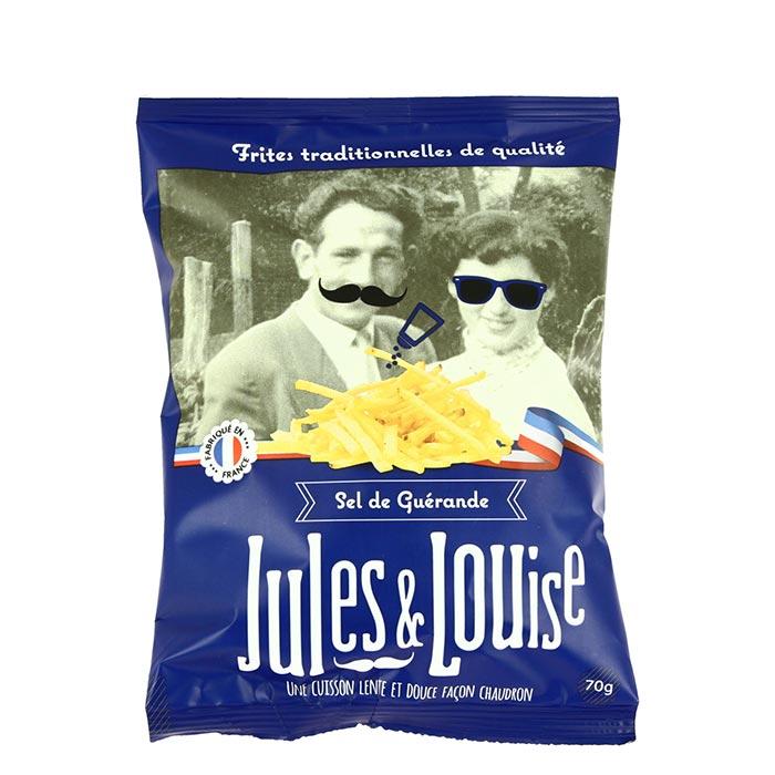 Chips Sticks mit Salz von Jules & Louise