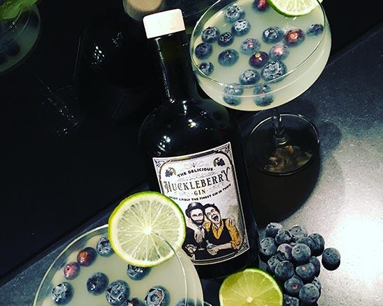 Huckleberry Gin