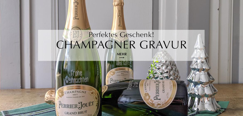 Champagner Gravur
