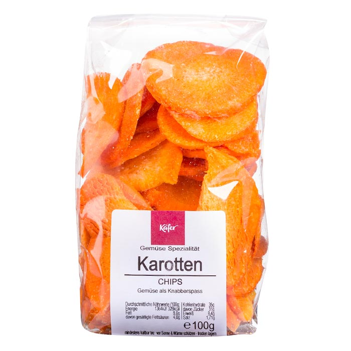 Karotten Chips