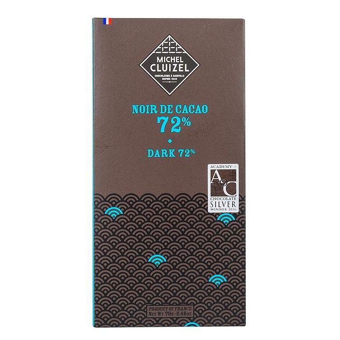 Edelbitterschokolade, Noir de Cacao 72 % Kakao