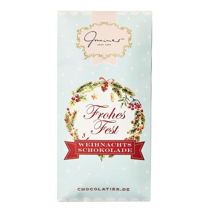 Frohes Fest Schokolade