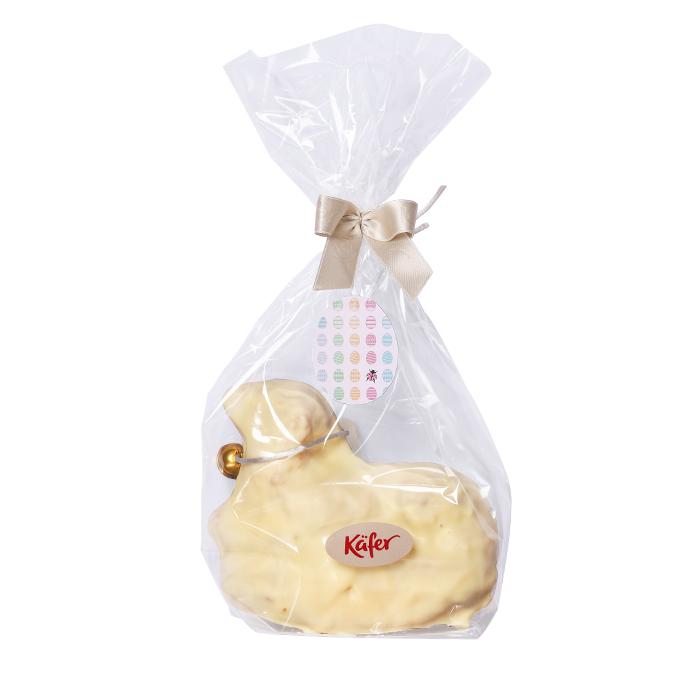 Osterlamm mit weißer Schokolade