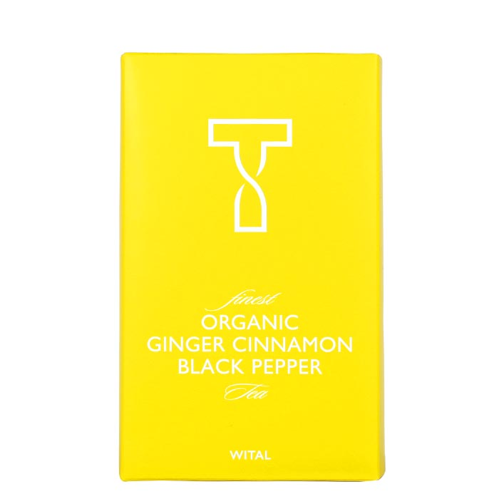 Bio Ginger Cinnamon black Pepper, Schwarzer Tee