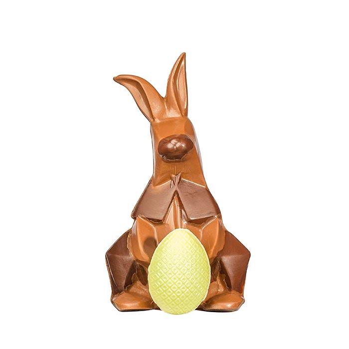 Schokoladenhase Origami