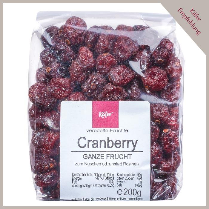 Cranberry, ganze