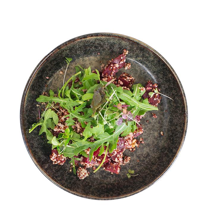 Quinoa und rote Beete