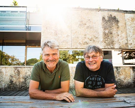 Erich und Walter Polz