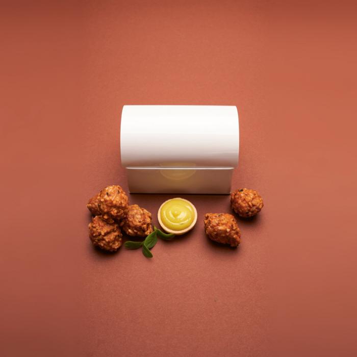 Fleisch Bällchen BBQ Chicken Balls