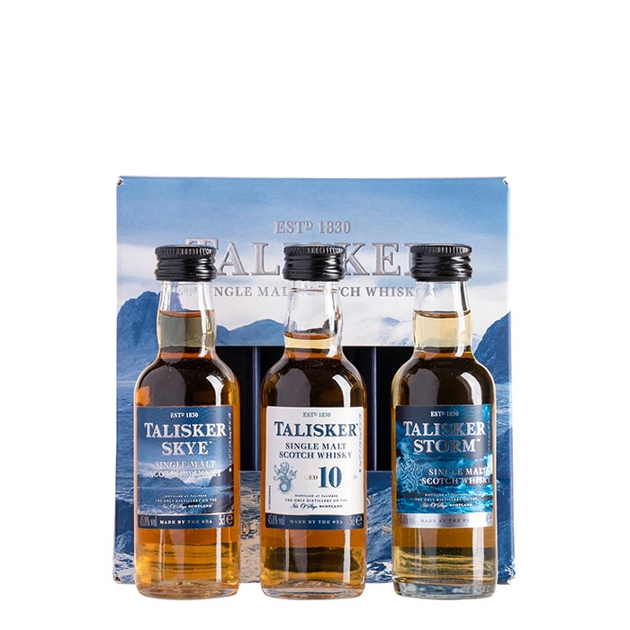 Talisker Whisky Mini Trio