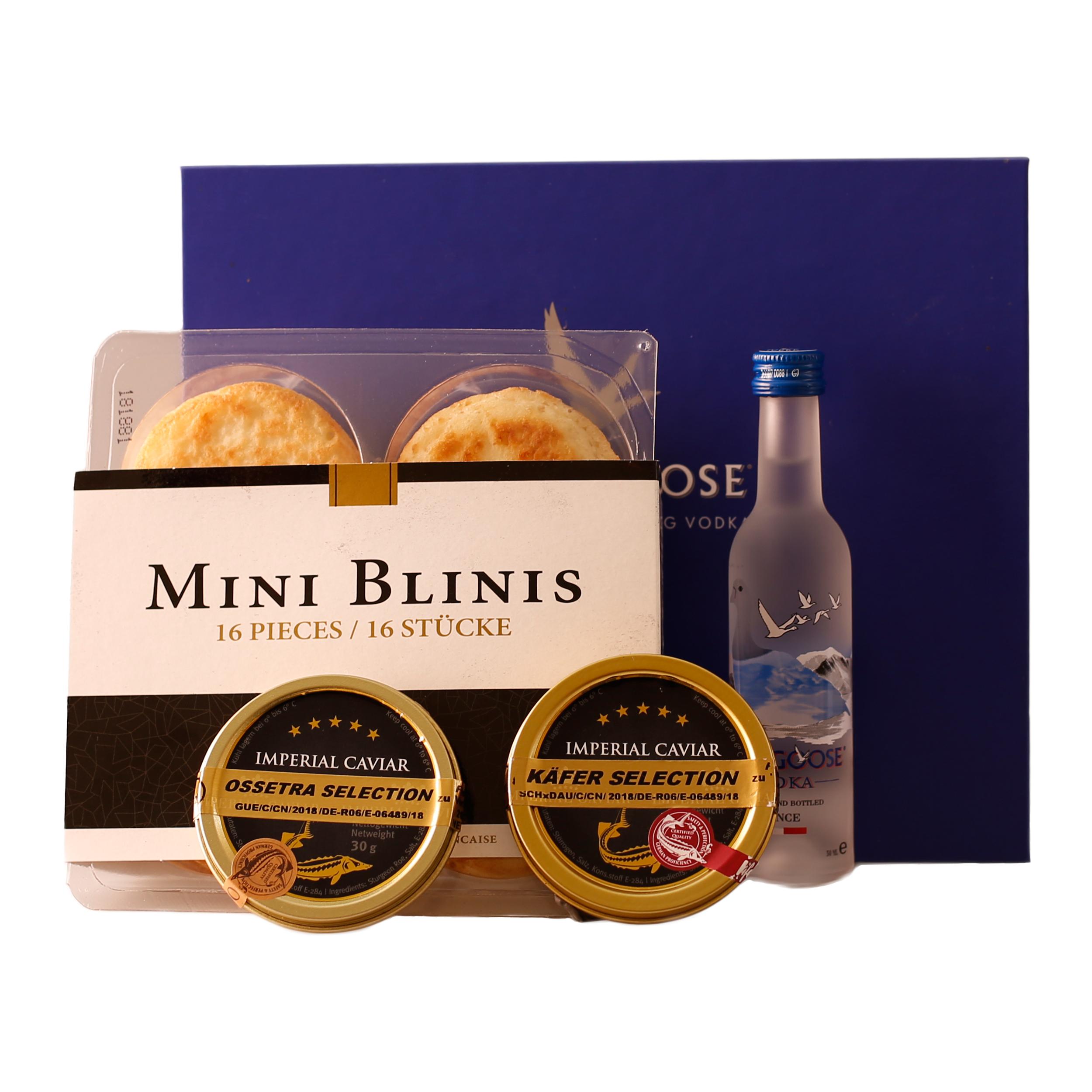 Ideal, um seine Lieblingssorte Kaviar herauszufinden. Jetzt bei Feinkost Käfer online bestellen!