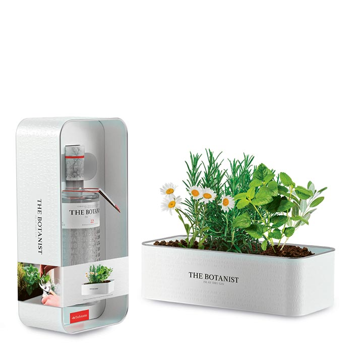 The Botanist Tin Planter