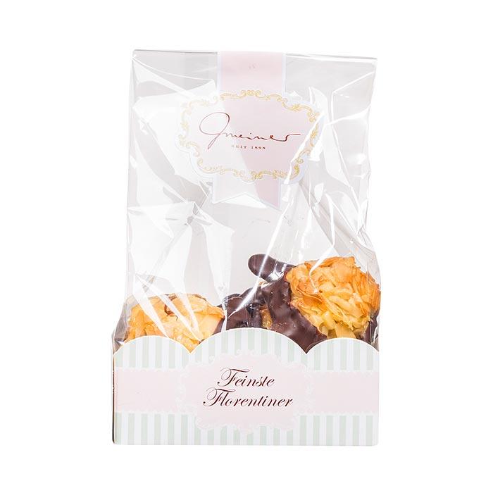 Florentiner mit Zartbitterschokolade