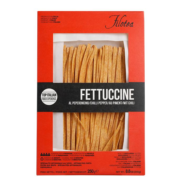 Fettuccine mit Chili