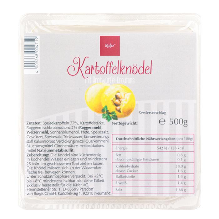 Käfer Kartoffelknödel