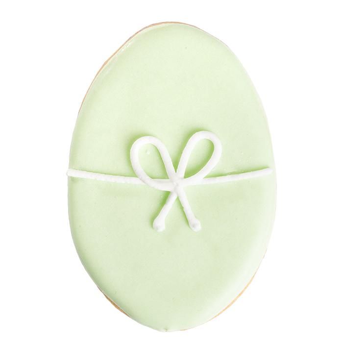 Osterei Vanillekeks, grün