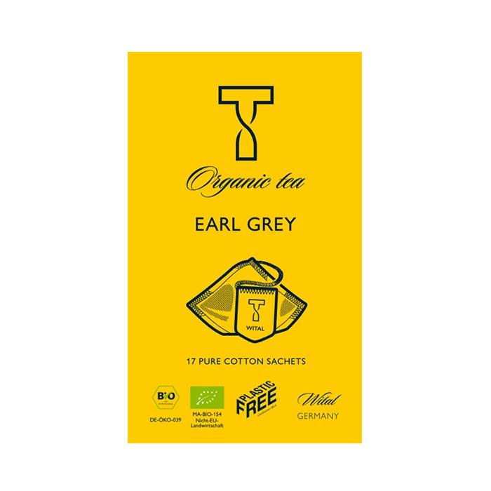Bio Earl Grey, Schwarzer Tee von Wital jetzt bei uns online bestellen!