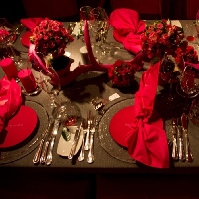 Genuss-Abend »Dinner in Red«  am 24.01.19 bei Feinkost Käfer