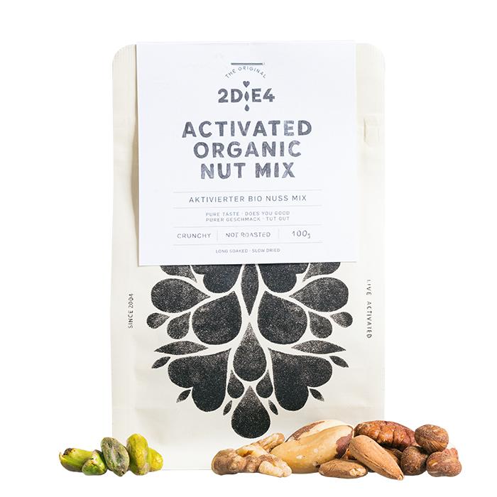 Aktivierter Bio Nuss Mix