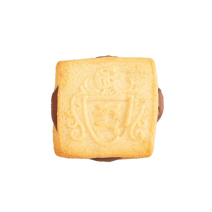 Buttergebäck mit Créme Praline