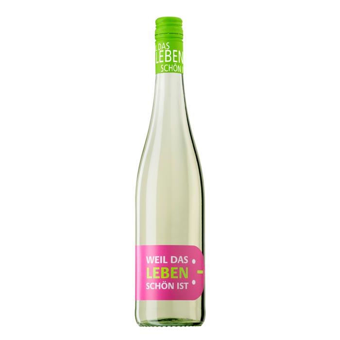 2017 Weißwein ...weil das Leben schön ist..., Franken, Deutschland