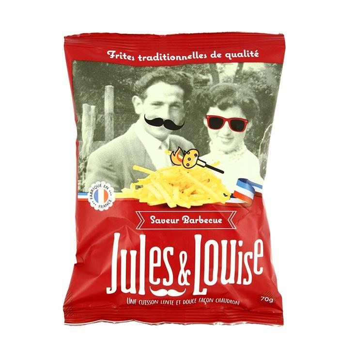 Chips Sticks mit BBQ Gewürz von Jules & Louise