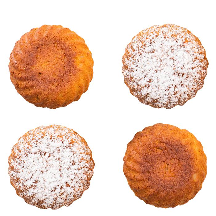 Aprikosen Macadamia Nuss Küchlein