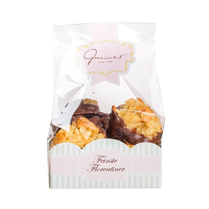 Florentiner mit Vollmilchschokolade