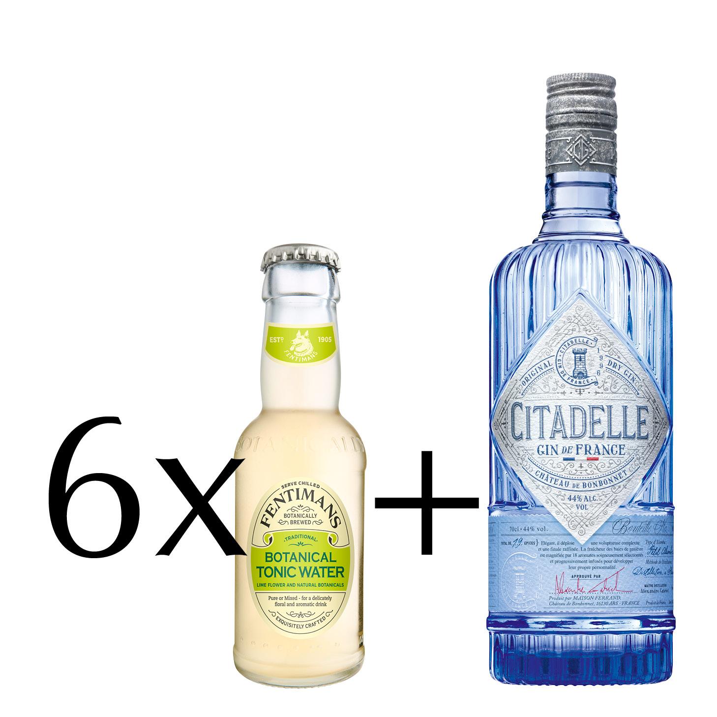 "Gin & Tonic Set ""Citadelle"""