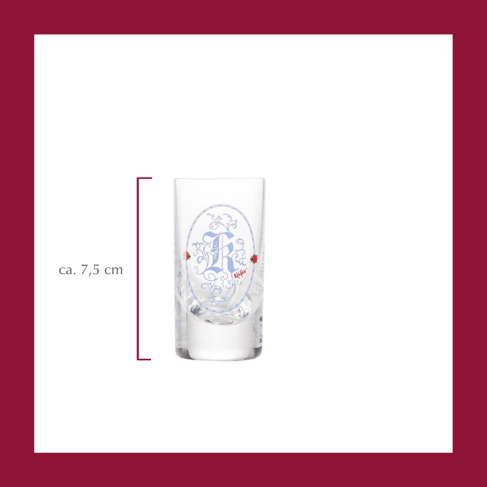 "Bayern Schnapsglas ""K"" 5cl"