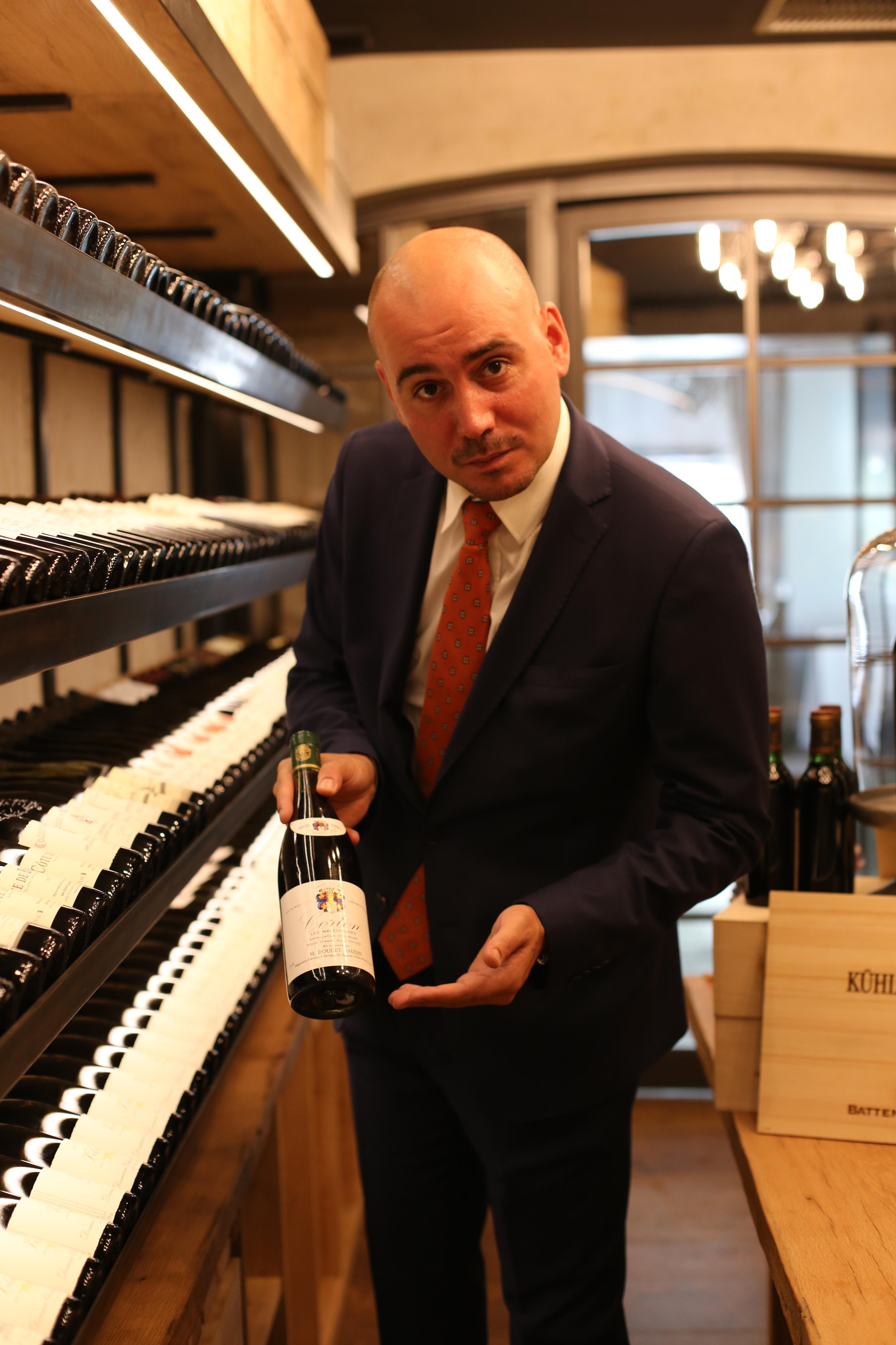 Borioni Weinraum