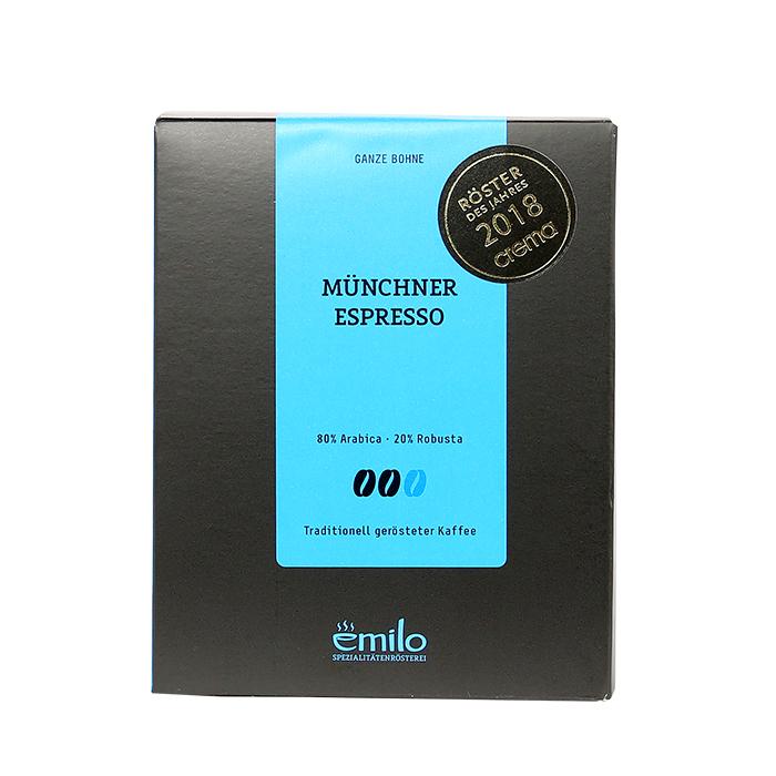 Münchner Espresso, ganze Bohne