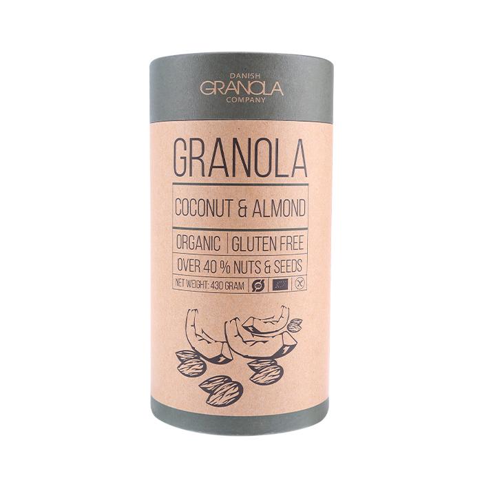 Bio Granola mit Kokosnuss und Mandel