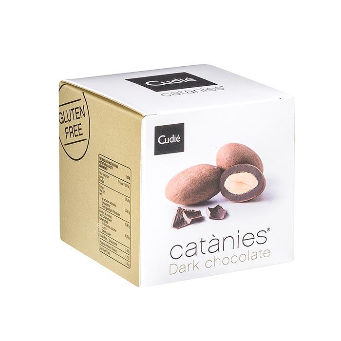 Catànies Schokomandel, schwarze Schokolade