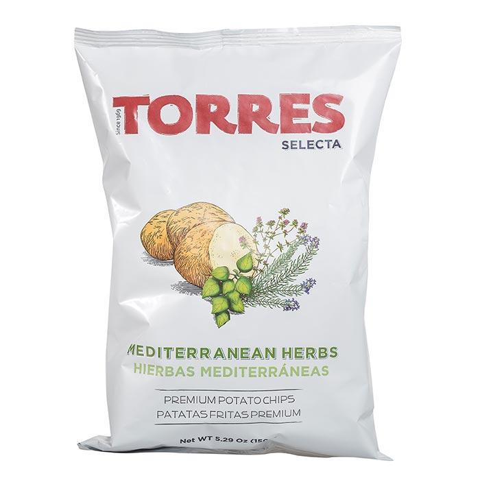 Kartoffelchips mit Mediterranen Kräutern