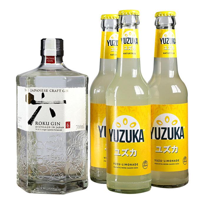 Roku Gin & Yuzuka Yuzu Set