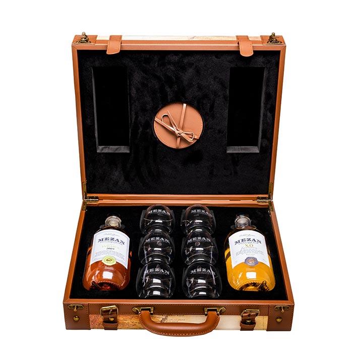 Präsent Rum Mezan Koffer von Mezan Rum