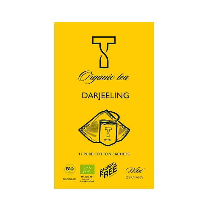 Bio Darjeeling, schwarzer Tee von Wital jetzt bei uns online kaufen!