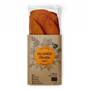 Bio Karotten Tortillas