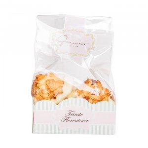 Florentiner mit weißer Schokolade
