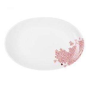 Mustermix Platte, oval, Ø 32 cm