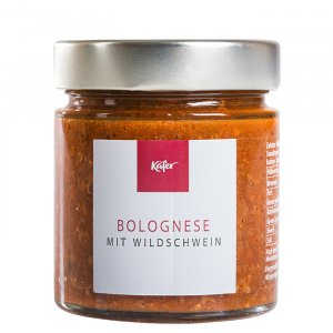 Bolognese mit Wildschwein
