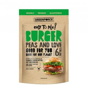 Veganer Burger Mix